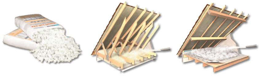 supafil loft 045 - Laine à souffler pour l'isolation des combles - Knauf